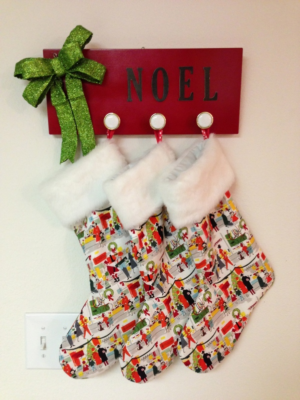 The stockings are hung...