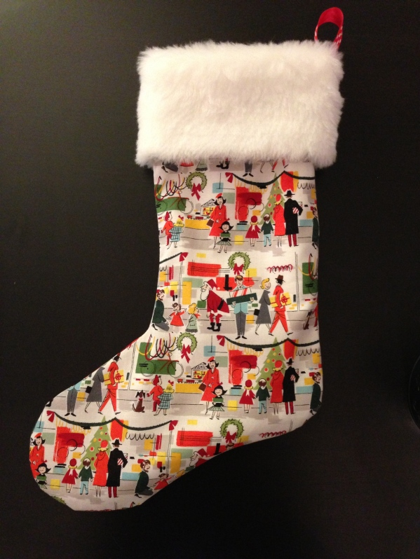 My new Christmas stocking