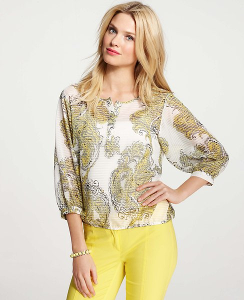 A summery version from Ann Taylor