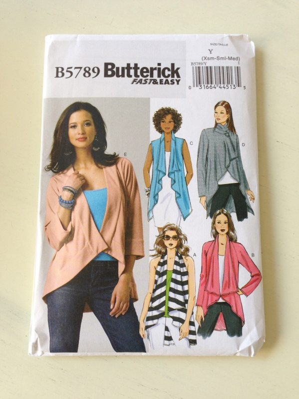 Butterick B5789. I made up view B.